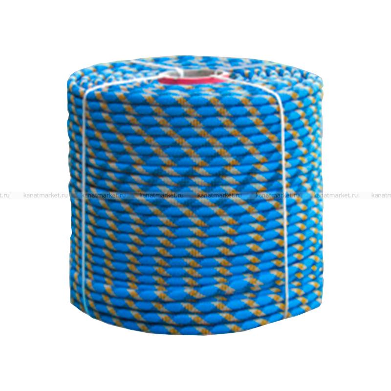 Верёвка страховочно-спасательная 11 мм Альпекс-11