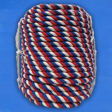 Канат цветной хлопчатобумажный 16 мм