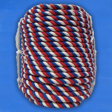 Канат цветной хлопчатобумажный 24 мм