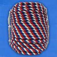 Канат цветной хлопчатобумажный D30 мм