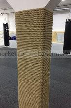 Примеры отделки канатов верёвкой в интерьере
