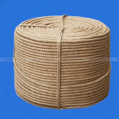 Верёвка джутовая 10 мм