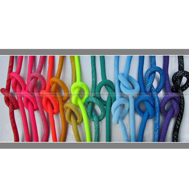 Верёвка гимнастическая 10 мм (с люрексом)