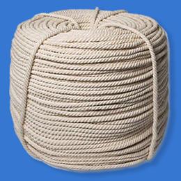 Верёвка хлопчатобумажная в отрезках по 44 метра