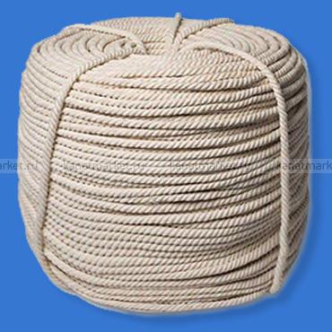Верёвка хлопчатобумажная 10 мм