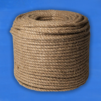 Верёвка пеньковая D19 мм