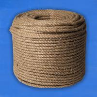 Верёвка пеньковая D37 мм