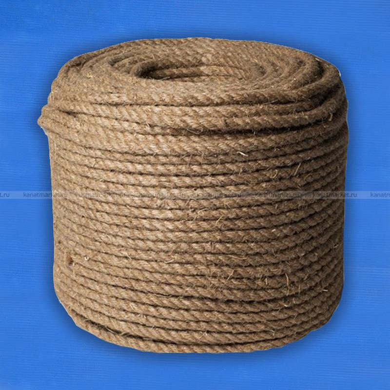 Верёвка пеньковая 80 мм