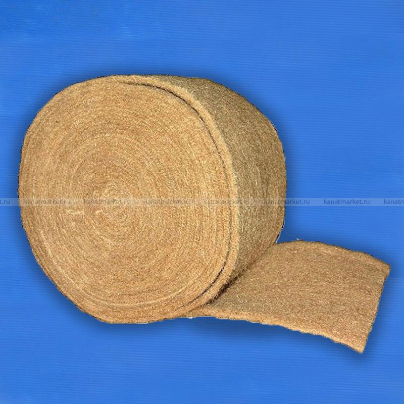 Межвенцовый утеплитель джутовый (лента) шир.150 мм (5-6мм)