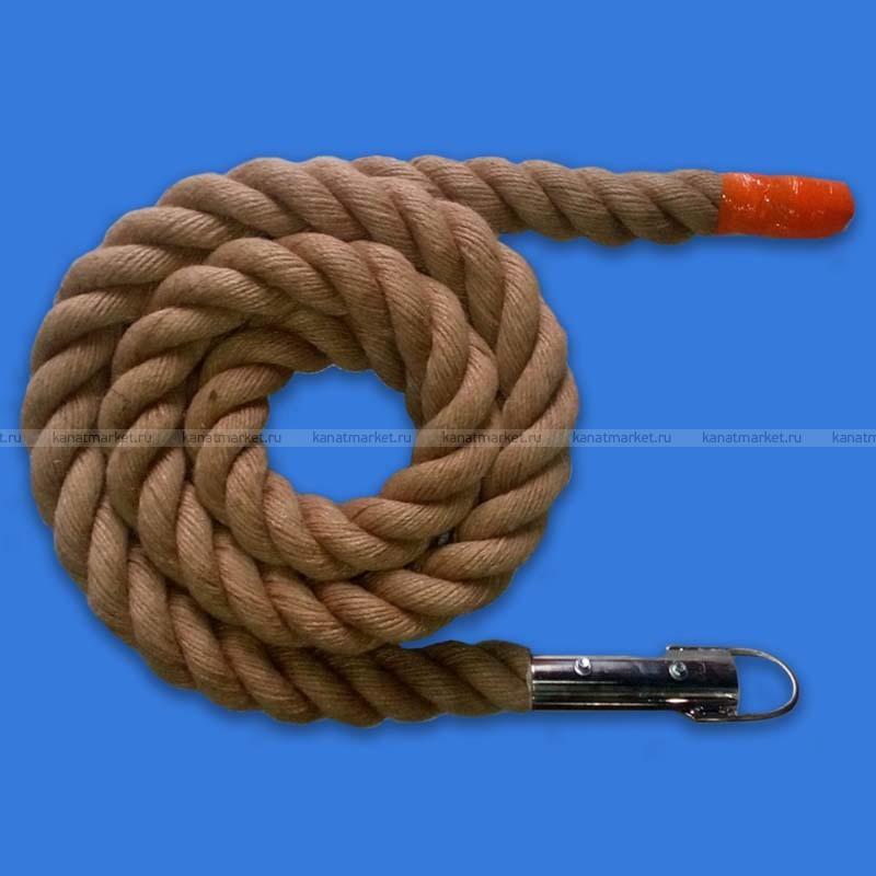 Канат для лазанья джутовый 40 мм до 5 м