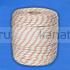 Верёвка плетёная полиамидная с сердечником 24-прядная 8 мм