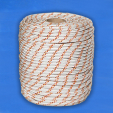 Верёвка плетёная полиамидная с сердечником 24-прядная11 мм