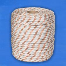 Верёвка плетёная полиамидная с сердечником 24-прядная12 мм