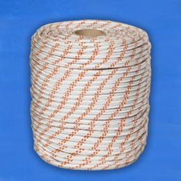 Верёвка плетёная полиамидная с сердечником 24-прядная 12 мм