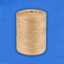 Шпагат джутовый 1,2 текс П 2 полированный в бобинах по 1,5 кг