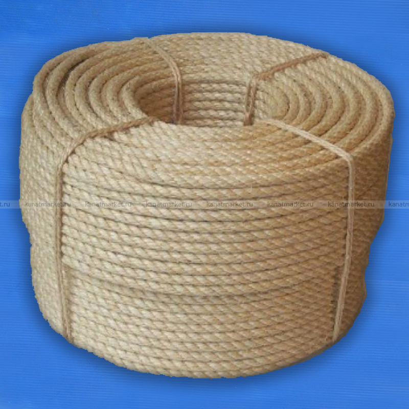Верёвка сизалевая 48 мм