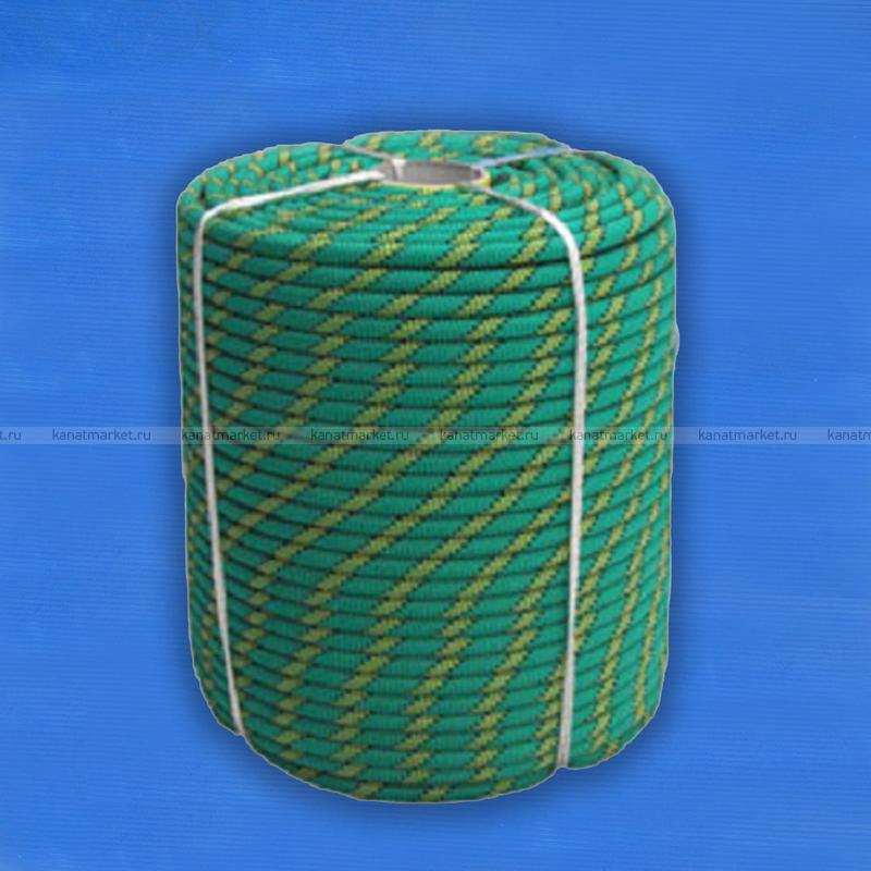 Верёвка страховочно-спасательная 10 мм Альпекс-10