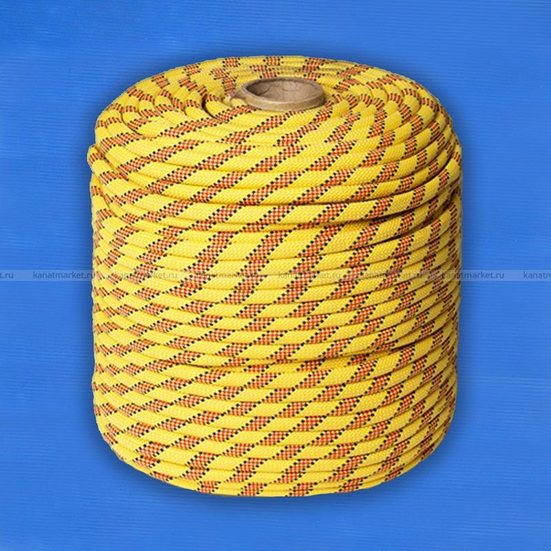 Верёвка страховочно-спасательная 12 мм Альпекс-12
